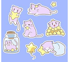 Star Kitty Photographic Print