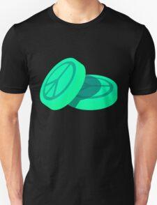 Ecstasy Pills - Peace Symbol Unisex T-Shirt