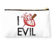 I Love to Stake Evil! Studio Pouch