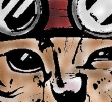 Punk Cat Sticker