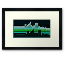INDIANAPOLIS LINES 5 Framed Print