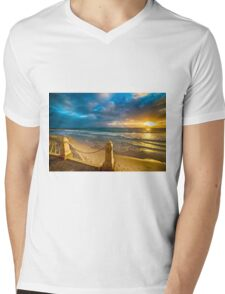 Sunset at Cottesloe 7 Mens V-Neck T-Shirt