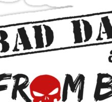 Daredevil - Punisher One Bad Day Sticker