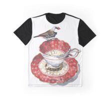 High Tea Diamond Firetail Graphic T-Shirt