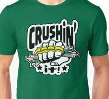 Crushin' it! Brass Knuckles Style Unisex T-Shirt