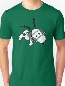 snoopy swimming Unisex T-Shirt