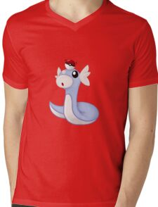 Dratini Mens V-Neck T-Shirt