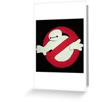 Ghost Hero 6 Greeting Card