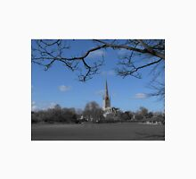 Norwich Cathedral; Blue Sky Unisex T-Shirt