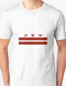 Washington DC Sports Teams Flag Unisex T-Shirt
