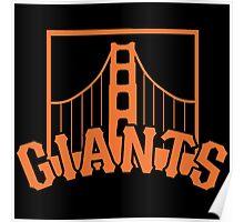 San Francisco Giants Poster