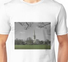 Norwich Cathedral; Green Grass Unisex T-Shirt