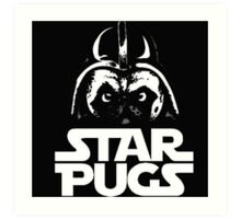 Star Pugs Art Print