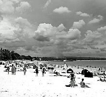 Noosa Beach by Nicole Barnes