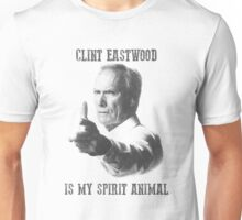 Clint Eastwood is my spirit animal Unisex T-Shirt