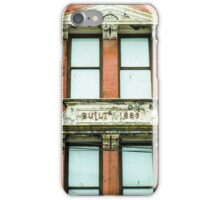 1889 iPhone Case/Skin