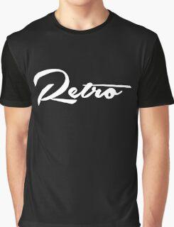Retro - White Graphic T-Shirt