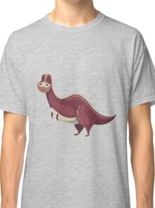 Funny cartoon dinosaur Classic T-Shirt