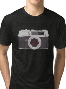 YASHICA illustration Tri-blend T-Shirt