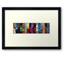CSGO MAJOR 2016 TEAMS Framed Print