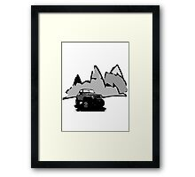Jeeping It!  Framed Print