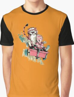 Calvin And Hobbes Fast Graphic T-Shirt