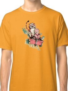 Calvin And Hobbes Fast Classic T-Shirt