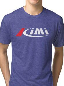top kimi raikkonen vintage Tri-blend T-Shirt