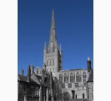 Norwich Cathedral; Chimney Pots ( Blue ) Unisex T-Shirt