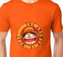 one piece luffy meat Unisex T-Shirt