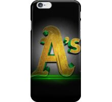Oakland A's MOS iPhone Case/Skin