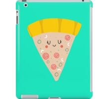 Cute funny smiling pizza slice iPad Case/Skin