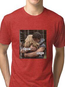 bellarke hug  Tri-blend T-Shirt