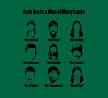 Seth Avett: a Man of Many Looks Unisex T-Shirt