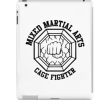 Mixed Martial Arts Cage Fighter iPad Case/Skin