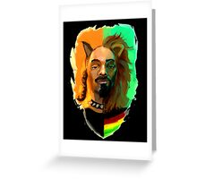 DOGLION Greeting Card