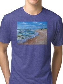Summer seaside in Lithuania Tri-blend T-Shirt