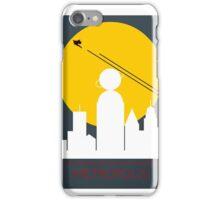 Superman Art Deco Art Print iPhone Case/Skin