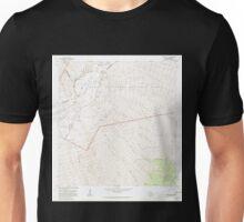 USGS TOPO Map Hawaii HI Mauna Loa 349580 1981 24000 Unisex T-Shirt