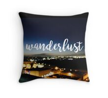 Wanderlust - Los Angeles CityScape Throw Pillow