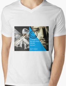 No Drugs Mens V-Neck T-Shirt