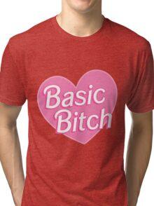 Basic Bitch Pink Tri-blend T-Shirt