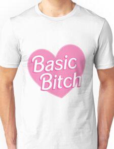 Basic Bitch Pink Unisex T-Shirt