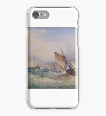 THOMAS SEWELL ROBINS Shipping off Dover Harbour iPhone Case/Skin