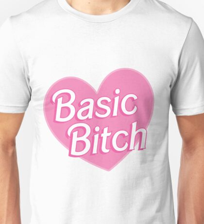Basic Bitch Blue Unisex T-Shirt