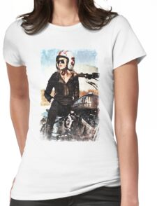TOUGH GIRL Womens Fitted T-Shirt