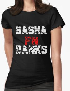 Sasha F'N Banks Womens Fitted T-Shirt