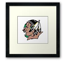 Fighting Sioux Framed Print
