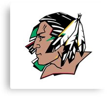 Fighting Sioux Canvas Print