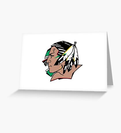 Fighting Sioux Greeting Card